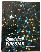 1971 Seeburg Bandshell Firestar Coin-Operated JUKEBOX Brochure PROMO Booklet