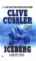 ICEBERG by Clive Cussler a paperback book FREE USA SHIPPING dirk pitt novel