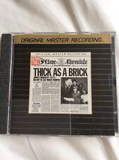 Jethro Tull Thick As A Brick Ultradisc II Gold Cd