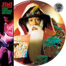 """JIMI HENDRIX - MERRY CHRISTMAS... 12"""" PICTURE DISC - RSD BF - NEW - SEALED"""