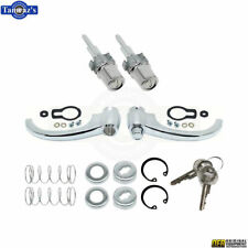 55-59 Chevy GMC Pick Up Pickup Truck Outside Chrome Door Handle & Key Lock Set