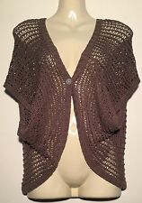 ❤️ Womens Soft SPORTSGIRL Woven Shrug Cardigan Top Size xs/s