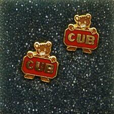 Piper Cub logo earrings