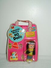 1982 Remco A Mel Appel Around the World in 80 Dolls Usa Indian Doll Nip #990