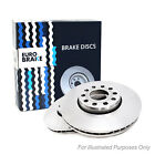 For Subaru Impreza GD 2.5 WRX ST1 Eurobrake 5 Stud Rear Vented Brake Discs Pair