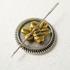 Bee Needle Minder, Cross Stitch,Embroidery, Needle Point, Magnetic Minder