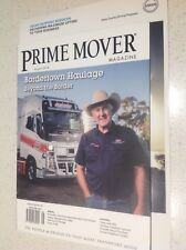 TRUCKS OFFICIAL MAGAZINE PRIME MOVER, LATEST ISSUE,BRAND NEW,MACK KENWORTH