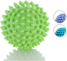 Hand Therapy Stress Relief Exerciser Squeeze Health Restore Green Spike Ball New