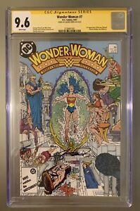 Wonder Woman #7 CGC 9.6 SS Signed George Perez WW84 1st Appear of New Cheetah