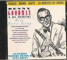 CD COMPIL 21 TITRES--BENNY GOODMAN & HIS ORCHESTRA--KING PORTER STOMP