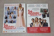 Jak Poślubić Milionera (2019) - Polish promo FLYER - ULOTKA