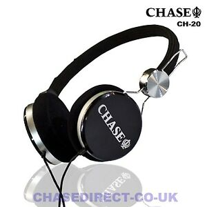 Chase CH-20 Stereo Headphones For Digital Piano Keyboard Electric Guitar Headset
