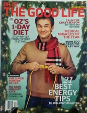 Dr Oz The Good Life Dec 2016 21 Best Energy Tips 1 Day Diet FREE SHIPPING sb