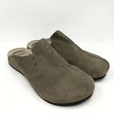 Abeo Bio System Women's leather mule Brown Sz 11