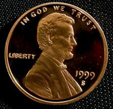 1999-S San Francisco Mint Lincoln Memorial Cent Proof