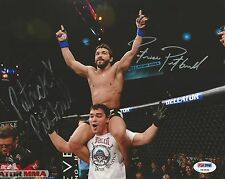 Patricio & Patricky Pitbull Freire Signed 8x10 Photo PSA/DNA COA Bellator MMA
