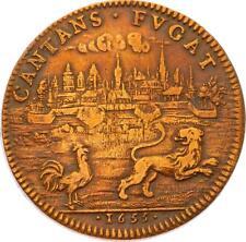 O3342 Jeton Louis XIV Parties Casuelles Prise Arras en Artois 1655 ->Faire offre
