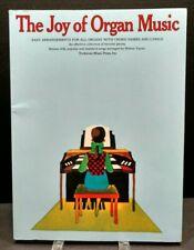 The Joy Of Organ Sheet Music Song Book Organ Easy Arrangements M19