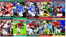 2021 Pro Set Leaf NFL Draft Day Complete 10 Card Set Lawrence Rookies IN HAND