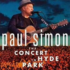 PAUL SIMON THE CONCERT IN HYDE PARK 2 CD & DVD ALL REGIONS NTSC 5.1 NEW