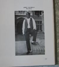 1959 UCLA College Yearbook Johnnie Cochran (OJ Simpson Lawyer) Jimmy Johnson +