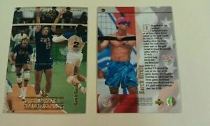 Karch Kiraly Beach Volleyball Star 1996 UD Upper Deck Olympic USA Gold Champions