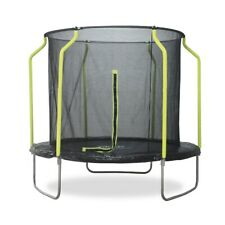 Plum Galvanized Steel 10ft Trampoline With Safety Net Enclosure