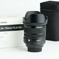 Sigma 24-70mm f/2.8 DG HSM OS Art NIKON F-mountEXTENDED WARRANTY Dec 2021