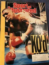 New listing February 19, 1990 Sports Illustrated Mike Tyson