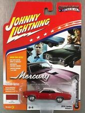 JOHNNY LIGHTNING 1961 MERCURY MONTEGO RED VERSION D MUSCLE CARS USA FREE SHIP.