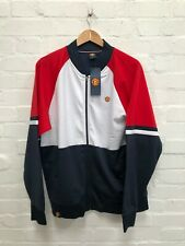 Manchester United FC Men's Retro Sports Colourblock Track Jacket - XL - NWD