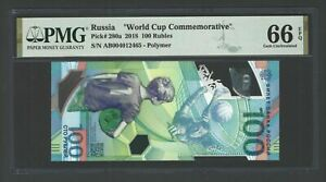 Russia 100 Rubles 2018 P280a Uncirculated Grade 66