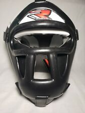RDX Head Guard No Impact Helmet Boxing Maya Leather MMA Martial Arts Gear Kick