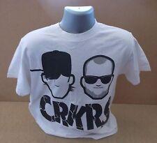 CROOKERS Roc Star UK white short sleeve promo t-shirt NEW/UNWORN Medium