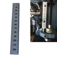 Scale Ruler Sticker Aluminum Arc Scale Angle Ruler Milling Machine Part 45-0-45
