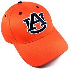 sports shoes edcf4 4d04e ... new zealand auburn university tigers logo solid orange hat cap  adjustable curved bill retro c7734 c2856