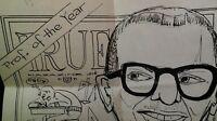 RARE 1957 MCGILL University Prof. Covo News!  True Mag.  VHTF WOW! Montreal