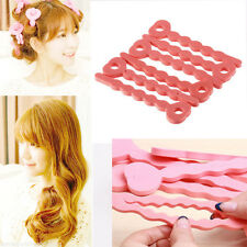 Hot  6pcs Not To Hurt The Hair Curling Curls Sleeping Beauty Sponge Hair Curlers
