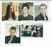 The Vampire Diaries Season 3 Complete 7 Card Mystic Falls Foil Chase Set NV01-05