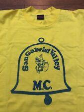 Vintage 70's San Gabriel Valley MC/ Motocross/ MX Club T-shirt - Large