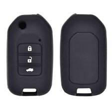 3 Button Silicone Key Cover Case Fob For Honda Civic CR-V HR-V Accord Jade