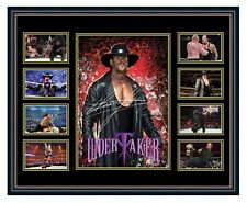 WWE THE UNDERTAKER SIGNED LIMITED EDITION FRAMED MEMORABILIA