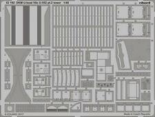 Eduard PE 53192 1/48 Dkm U-Boat Tipo VIIC U-552 (la segunda guerra mundial) pt.2 Torre Trumpeter C