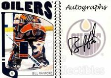 2004-05 ITG Franchises Canadian Auto #BR Bill Ranford