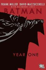 Year One by Bob Kane, Frank Miller and David Mazzucchelli (2007, Paperback, Rev…