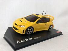 Kyosho MINI-Z Body Peugeot 206 WRC Yellow Used