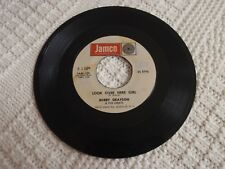 BOBBY GRAYSON & THE ORBITS LOOK OVER HERE GIRL/I'LL FOLLOW YOU JAMCO105 PROMO