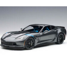 Autoart Chevrolet Corvette Grand Sport 1:18 Grey/Blue Fender Hash Marks 71272