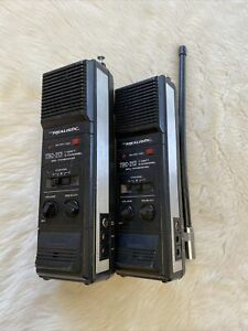 Stranger Things Cosplay Vintage Realistic Two Way Radios Or For Parts TRC-213