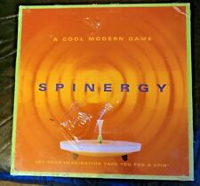 NEW SEALED SPINERGY BOARD GAME Cool Modern Sleek GNU GAMES 2003 NIB